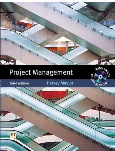 9780273704317: Project Management Media Edition with MS Project CD: With MS Project CD 2005