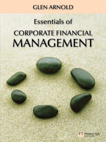 9780273705086: Essentials of Corporate Financial Management