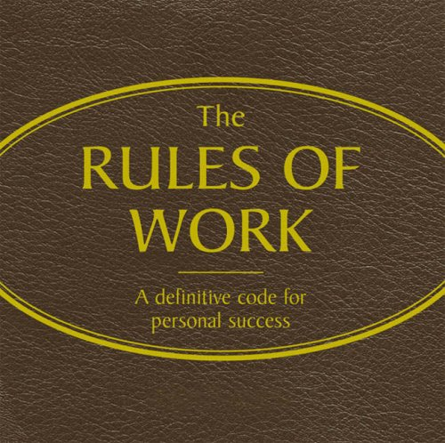 9780273705703: Rules of Work (Red Audio)