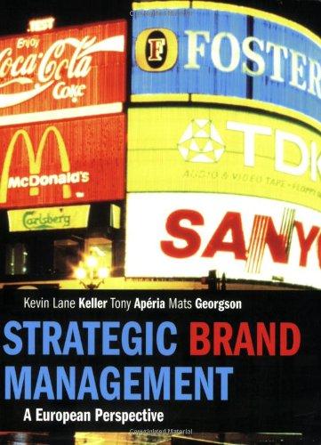 9780273706328: Strategic Brand Management: A European Perspective