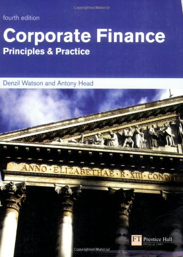 9780273706441: Corporate Finance: Principles & Practice