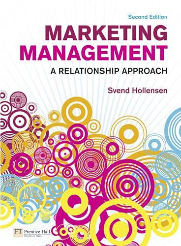 9780273706830: Marketing Management: A Relationship Approach