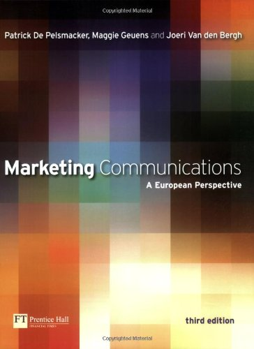 9780273706939: Marketing Communications: A European Perspective