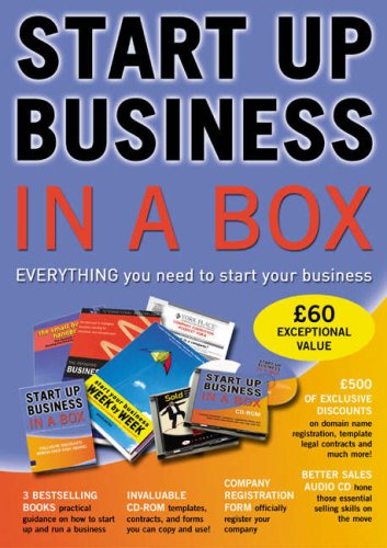 Start Up Business In A Box: Everything You Need To Start Your Business (0273707329) by Parks, Steve; Stutely, Richard; Martin, Steve