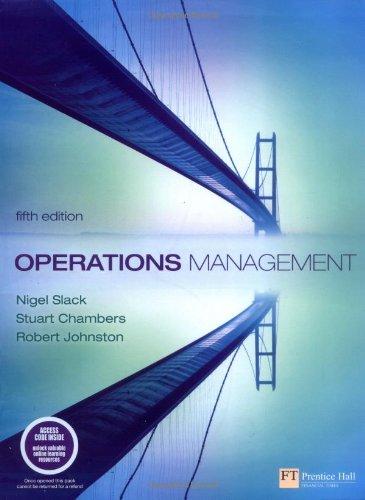 9780273708476: Operations Management