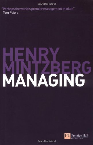 9780273709305: Managing (Financial Times Series)