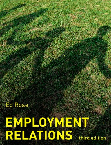 9780273710080: Employment Relations (3rd Edition)