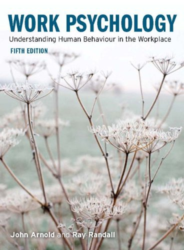 9780273711216: Work Psychology