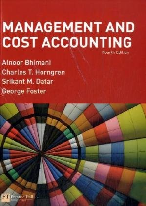 9780273711490: Management and Cost Accounting