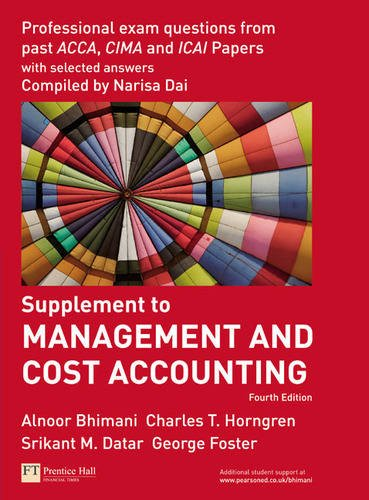 cost accounting questions