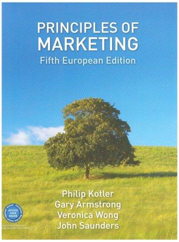 Principles of Marketing: Philip Kotler, Gary