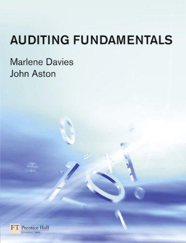 Auditing Fundamentals (Paperback): Marlene Davies, John Aston