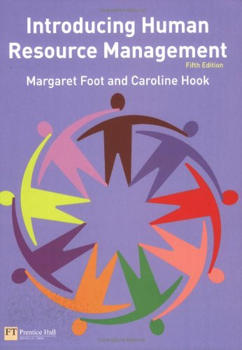 9780273712008: Introducing Human Resource Management (Modular Texts in Business & Economics)