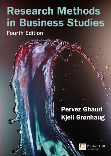 9780273712046: Research Methods in Business Studies (4th Edition)