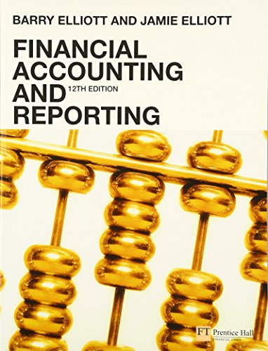 9780273712312: Financial Accounting and Reporting