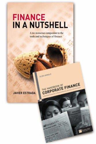 9780273712596: Handbook of Corporate Finance / Finance in a Nutshell