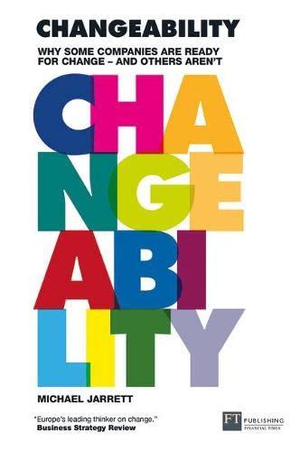 9780273712893: Changeability