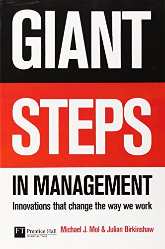 9780273712923: Giant Steps in Management: Innovations That Change the Way You Work (Financial Times Series)