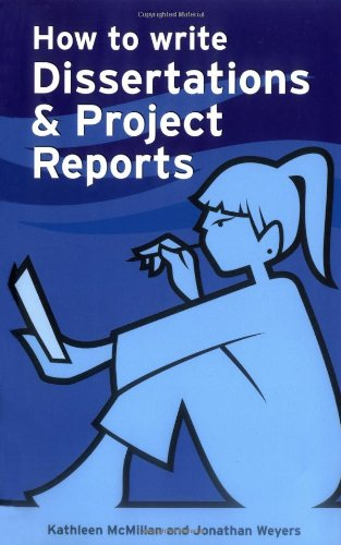 9780273713586: How to Write Dissertations and Project Reports (Smarter Study Guides)