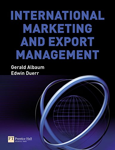 9780273713876: International Marketing and Export Management (6th Edition)