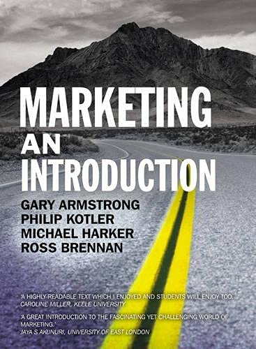 9780273713951: Marketing an Introduction