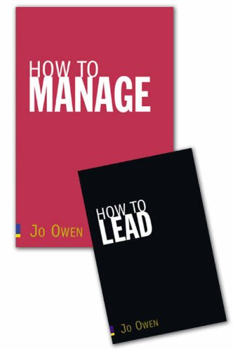 How to Lead / How to Manage (0273714538) by Jo Owen