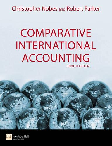 9780273714767: Comparative International Accounting (10th Edition)