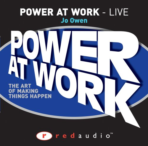 Owen Power at Work (0273715704) by Jo Owen