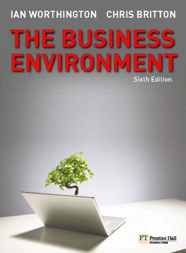 9780273716754: The Business Environment