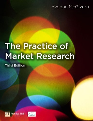 9780273717072: The Practice of Market Research: An Introduction (3rd Edition)