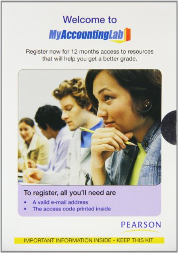 9780273717324: MyAccountingLab and MyAccountingLab powered by CourseCompass (EMA) student access kit (12 months)