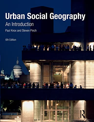 9780273717638: Urban Social Geography: An Introduction