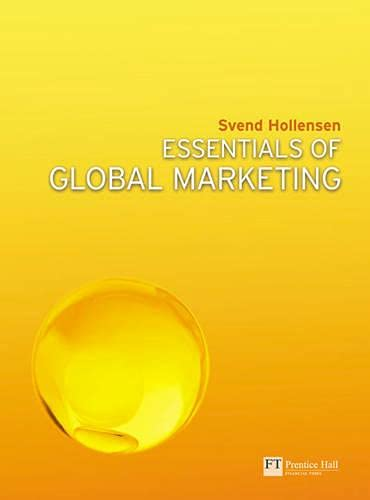 9780273717843: Essentials of Global Marketing