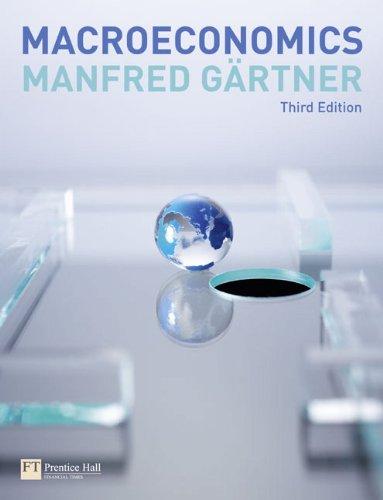 Macroeconomics: Gartner, Manfred