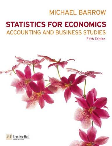 9780273717980: Statistics for Economics, Accounting & Business Studies plus MathXL pack