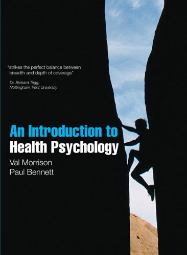 9780273718352: An Introduction to Health Psychology