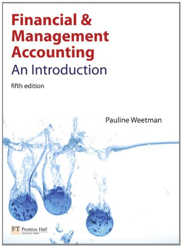 9780273718413: Financial and Management Accounting: An Introduction (5th Edition)