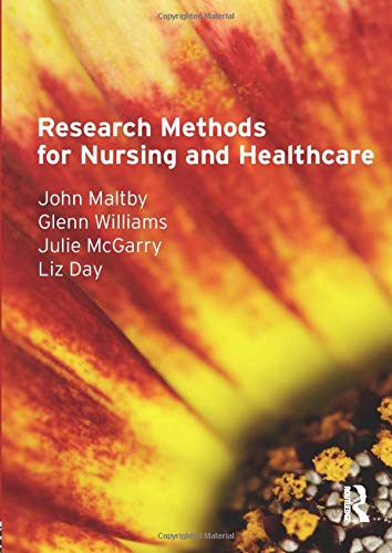9780273718505: Research Methods for Nursing and Healthcare