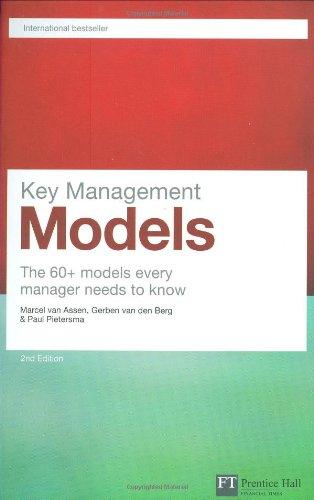Key Management Models: The 60+ models every: Marcel Van Assen,