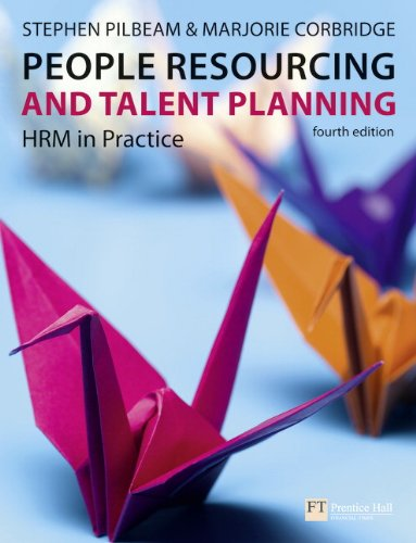 9780273719540: People Resourcing and Talent Planning: HRM in Practice