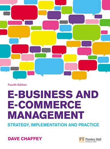 9780273719601: E-Business and E-Commerce Management: Strategy, Implementation and Practice (4th Edition)