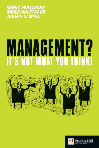 9780273719670: Management - it's Not What You Think