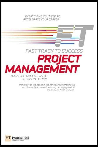 9780273719922: Project Management: Fast Track to Success
