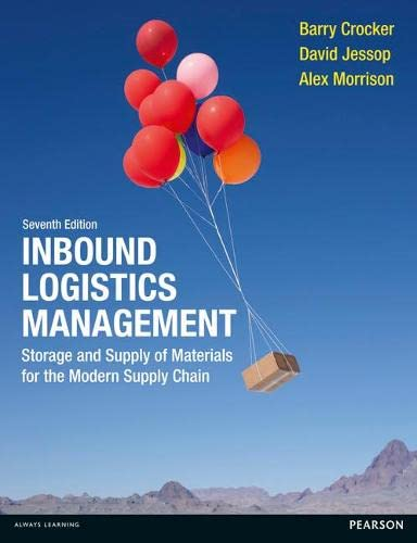 9780273720485: Inbound Logistics Management: Storage and Supply of Materials for the Modern Supply Chain