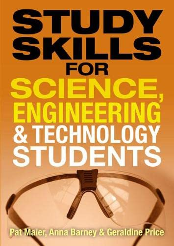 9780273720737: Study Skills for Science, Engineering and Technology Students