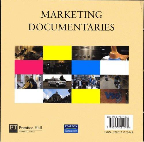 9780273721048: Marketing Documentaries