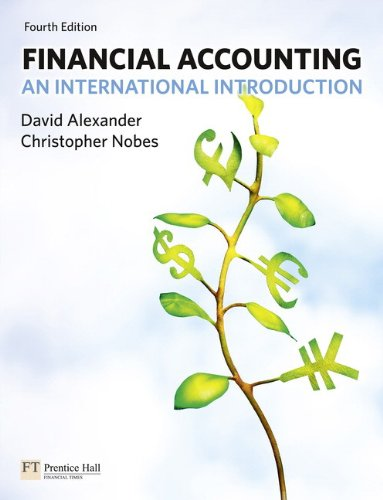 9780273721642: Financial Accounting: An International Introduction (4th Edition)