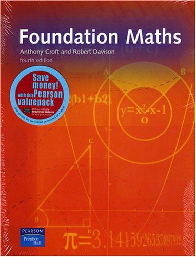 9780273721901: Foundation Maths