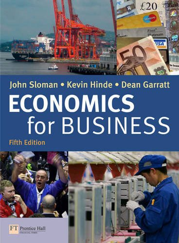 9780273722335: Economics for Business 5th edition