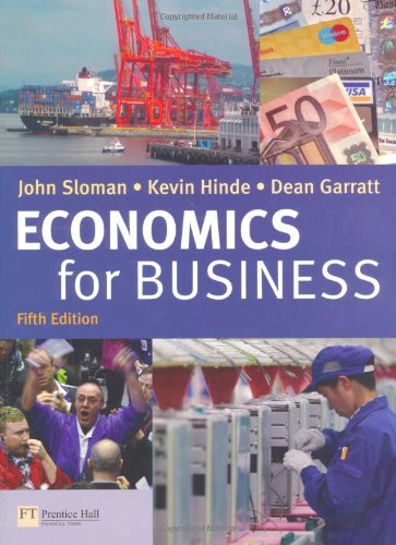 Economics for Business and CWG Pack: John Sloman, Kevin